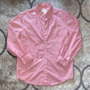 American Eagle | Pink Cotton Button Up Shirt